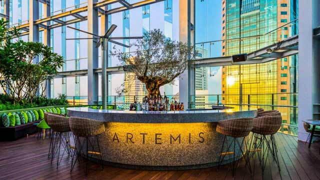 artemis grill and sky bar